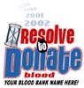 T Shirts • Blood Bank • Resolve To Donate by Greg Dampier All Rights Reserved.