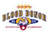 T Shirts • Blood Bank • 100 Perc Blood Donor by Greg Dampier All Rights Reserved.