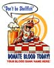 T Shirts • Blood Bank • Dont Be Shellfish by Greg Dampier All Rights Reserved.