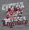 T Shirts • Sporting Events • Bulldogs Legendary by Greg Dampier All Rights Reserved.