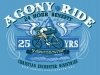 T Shirts • Sporting Events • Agony Ride by Greg Dampier All Rights Reserved.