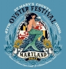 T Shirts • Travel Souvenir • Oyster Fest Mermaid Design by Greg Dampier All Rights Reserved.