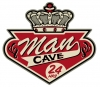 T Shirts • Travel Souvenir • Man Cave With Crown Sign Art by Greg Dampier All Rights Reserved.