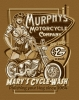 T Shirts • Business Promotion • Murphys Motorcycle Co Tee by Greg Dampier All Rights Reserved.