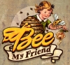 T Shirts • Business Promotion • Bee My Friend Logo by Greg Dampier All Rights Reserved.