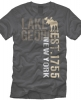 T Shirts • Travel Souvenir • Lkgeorge Ny Label Tee by Greg Dampier All Rights Reserved.