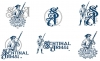Logos • Sentinal Arms Logo Full 2 Color Versions by Greg Dampier All Rights Reserved.