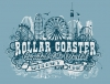 T Shirts • Travel Souvenir • Rollar Coaster Sandusky Promo by Greg Dampier All Rights Reserved.