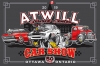 T Shirts • Vehicle Events • Atwill Car Show Grey by Greg Dampier All Rights Reserved.