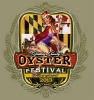 T Shirts • Miscellaneous Events • Oyster Festival Pinup by Greg Dampier All Rights Reserved.
