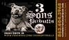 Logos • 3 Sons Pitbulls Cardlogo by Greg Dampier All Rights Reserved.