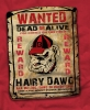 T Shirts • Sporting Events • Bulldog Wanted Poster by Greg Dampier All Rights Reserved.