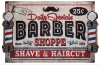 T Shirts • Business Promotion • Barber Sign6 by Greg Dampier All Rights Reserved.