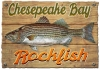 Illustration • Full Color • Rockfish Vintage Sign by Greg Dampier All Rights Reserved.