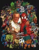 Comics • Color • Stan Lee Jack Kirby Tribute Poster by Greg Dampier All Rights Reserved.