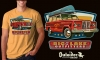 T Shirts • Travel Souvenir • Outfitters Jeep Wagoneer by Greg Dampier All Rights Reserved.