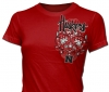 T Shirts • Sporting Events • Huskers Bling Tee by Greg Dampier All Rights Reserved.
