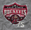 T Shirts • Sporting Events • Buckeyes Shield by Greg Dampier All Rights Reserved.