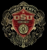T Shirts • Travel Souvenir • Osu Shield by Greg Dampier All Rights Reserved.