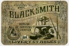 T Shirts • Travel Souvenir • Vintage Blacksmith Sign by Greg Dampier All Rights Reserved.