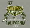 T Shirts • Travel Souvenir • Monterey Boards by Greg Dampier All Rights Reserved.