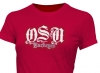 T Shirts • Sporting Events • Osu Initials Silver by Greg Dampier All Rights Reserved.
