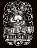 T Shirts • Travel Souvenir • Dr Black Sheeps Snake Oil Antidote And Bullshite Antidote Tee by Greg Dampier All Rights Reserved.