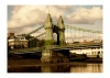 Photography • Bridge Over The River Thames London Photo By Greg Dampier by Greg Dampier All Rights Reserved.