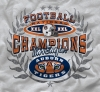 T Shirts • Sporting Events • Wreath War Eagle by Greg Dampier All Rights Reserved.