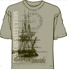 T Shirts • Travel Souvenir • Old Ironsides Boston Tee by Greg Dampier All Rights Reserved.