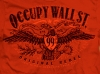 T Shirts • Travel Souvenir • Occupy Wall Street Red Eagle Tee by Greg Dampier All Rights Reserved.