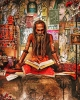 Fine Art • Sadhu Monk India 1 by Greg Dampier All Rights Reserved.