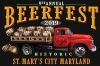 T Shirts • Vehicle Events • Beerfest Truck St Marys City2 by Greg Dampier All Rights Reserved.