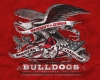 T Shirts • Sporting Events • Bulldog Eagle by Greg Dampier All Rights Reserved.