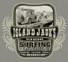 T Shirts • Travel Souvenir • Island Jack Surfing Tee by Greg Dampier All Rights Reserved.