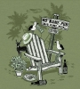T Shirts • Travel Souvenir • No Nmae Pub Adirondack Chair Tee by Greg Dampier All Rights Reserved.
