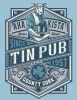 T Shirts • Travel Souvenir • Tin Pub Bar Tee by Greg Dampier All Rights Reserved.