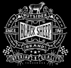 T Shirts • Travel Souvenir • Black Sheep Brand Logo Tee by Greg Dampier All Rights Reserved.