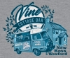 T Shirts • Travel Souvenir • Vine Cottage Bar Tee by Greg Dampier All Rights Reserved.
