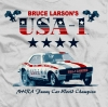 T Shirts • Vehicle Related • Bruce Larson Usa 1 Tee by Greg Dampier All Rights Reserved.