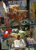 Fine Art • Collectables In Cabinet Renningers3 by Greg Dampier All Rights Reserved.