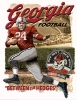 T Shirts • Sports Related • Vintage Georgia Football Poster Illustration Full by Greg Dampier All Rights Reserved.