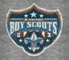 T Shirts • Youth Designs • Boy Scouts Shield by Greg Dampier All Rights Reserved.