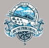 T Shirts • Travel Souvenir • Strong Speed Boat Tee by Greg Dampier All Rights Reserved.
